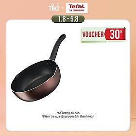 Chảo chiên sâu lòng Tefal Day By Day G1436405 24cm - Chống dính đáy từ - Dùng cho mọi loại bếp - Báo nhiệt thông minh - Hàng chính hãng