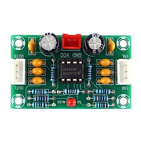 Mô-đun Tiền Khuếch đại âm Thanh OP-Amp Hoạt động Bảng Khuếch đại NE5532