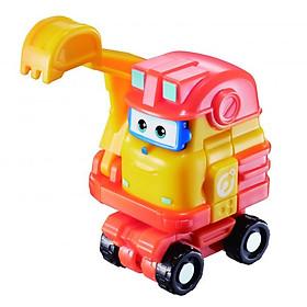 Robot Biến Hình Mini Scoop Xây Dựng SUPERWINGS YW730013