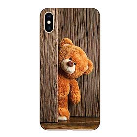 Ốp lưng dẻo cho Iphone XS Max_Teddy