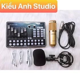 Combo mic thu âm Livestream H9 và Mic Bm 900 giá siêu rẻ cam kết sản phẩm như hình