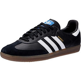Adidas Mens Samba Leather Trainers