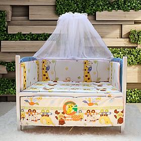Giường cũi trẻ em 2 tầng Việt Nam TH810 ( 80 x 120cm)