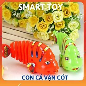 Đồ chơi trẻ em con cá vặn cót nhiều màu dễ thương cho bé trai bé gái từ 3 tuôi vận động phát triển trí tuệ Smart Toy)