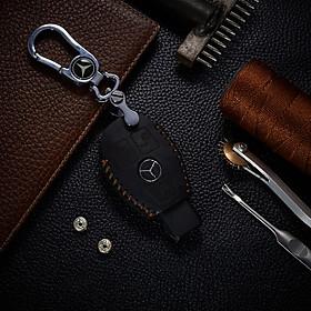 Bao Da Chìa Khóa Ô Tô dành cho Mercedes Glc 200/250/260/300 Da Bò