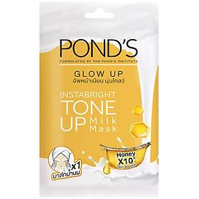 Mặt Nạ Sữa Dưỡng Trắng Nâng Tông Và Căng Bóng Da Pond'S White Beauty Glow Up Milk Mask 25G