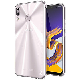 Ốp lưng silicon dẻo trong suốt Loại A cao cấp cho ASUS Zenfone 5z 2018 ZS620KL