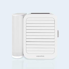 Quạt Điều Hòa Xiaomi Microhoo MH01R 99 Tốc Độ Với Màn Hình Cảm Ứng & Cổng USB 3 Trong 1 - Trắng .Quạt làm mát mới Xiaomi Air Microhoo Mini. Quạt làm mát 6W 1000ml