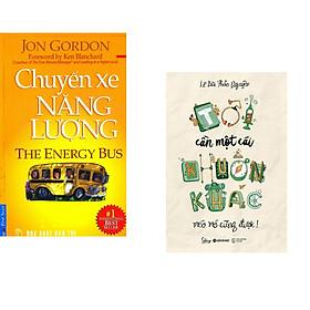 Combo 2 cuốn sách: Chuyến Xe Năng Lượng + Tôi Cần Một Cái Khuôn khác Méo mó Cũng được