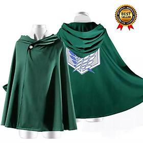 Mẫu áo choàng cosplay Attack on titan độc đẹp