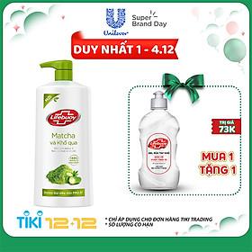 Sữa tắm Detox Lifebuoy - Matcha & Khổ Qua (850g)