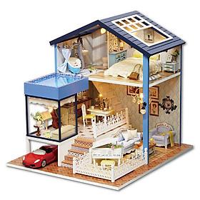 Nhà búp bê Ngôi nhà thu nhỏ lắp ghép Seattle