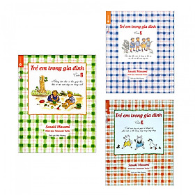 Combo (3 Cuốn) Trẻ Em Trong Gia Đình - Sách Làm Cha Mẹ (Tặng Kèm Bookmark)