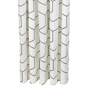 Rèm Phòng Tắm JYSK Tidan Cotton  Xám Trắng 150  x  200 cm Plus