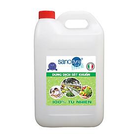 Dung dịch điện phân sát khuẩn (Anolyte) Sanodyna công nghệ Châu Âu 100% tự nhiên An toàn- Hiệu Qủa - Thân Thiện