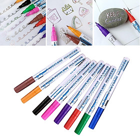 Double Line Outline Pens, 8 or 12 Colours Outline Pens Two-Line Glitter Art Drawing Pens Marker Pens Set Highlighter Writing Drawing Pens for DIY
