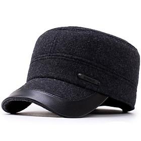Mũ nồi viền da - Mũ nồi mùa đông sang trọng - Món quà ý nghĩa dành tặng ông, bố