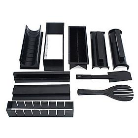 Bộ dụng cụ làm sushi, bộ khuôn làm sushi kimbap, cơm cuộn, trứng cuộn 27 x 14.5 x 8cm+ Tặng kèm hình dán