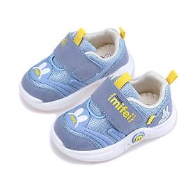 Giày tập đi cho bé trai bé gái 6 - 24 tháng Hell Mifei GE48