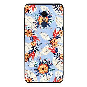 Ốp lưng viền TPU cho điện thoại Xiaomi Redmi Note 4 - Flower 16