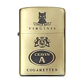 Bật Lửa Zippo 204b Khắc Logo Thuốc Lá Craven A 02 - 204b.Craven02