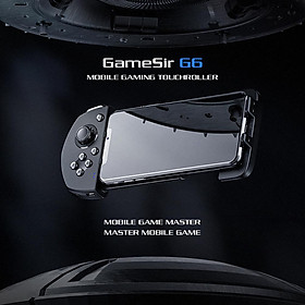 GameSir G6 Mobile Gaming Touchroller Wireless Controller Bluetooth5.0 with 3D Joystick Trigger Buttons G-Touch Technology For iOS For FPS MOBA Games
