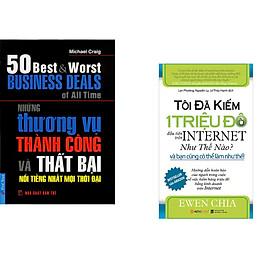 Combo 2 cuốn sách: Những Thương Vụ Thành Công và Thất Bại + Tôi đã kiếm 1 triệu đô đầu tiên trên internet như thế nào và bạn cũng có thể làm được như thế