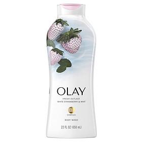 Sữa tắm Olay Strawberry & Mint 650ml
