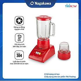 Máy Xay Sinh Tố Nagakawa NAG0806 (300W - 1.25 Lít) - Hàng Chính Hãng