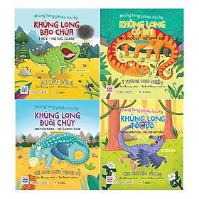 Combo Khủng Long Phiêu Lưu Ký (4 cuốn)