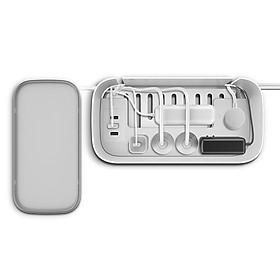 Ổ cắm đa năng tích hợp hộp bảo vệ ổn áp hiệu BULL với cổng sạc USB dùng cho gia đình