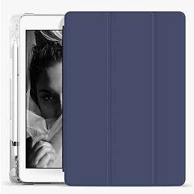 Bao da thông minh cho máy tính bảng iPad gen 8 7 6 5 mini 5 4 pro air3 2 1 10.2/10.5/9.7 Bao da ipad Trong mờ đẹp đa màu sắc
