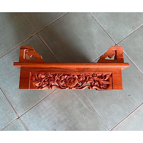 Bàn thờ treo tường hoa sen 40cm TTX40SD