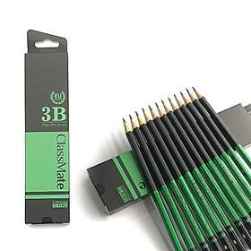 COMBO 6 Cây Bút chì gỗ cao cấp 3B CLASSMATE Fine Art 3B CL-PC903