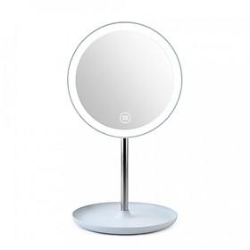 Fashion Led Light Makeup Mirror Table Lamp 360° Rotation Brightness Adjustable Beauty Cosmetic Mirror
