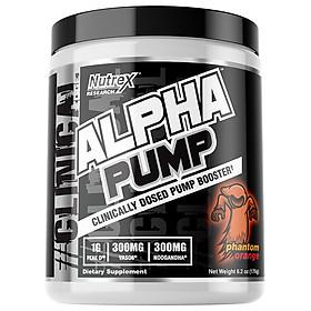 Alpha Pump Nutrex - Hỗ Trợ Pump Cơ Hiệu Quả  - 20 Liều dùng