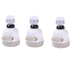 Combo 3 cái Đầu vòi tăng áp 3 mức độ cho bồn rửa chén