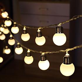 Đèn LED Bóng Tròn Có Chuôi Ping Pong Ball Trang Trí Kiểu Cổ Điển