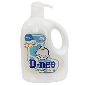 Dung Dịch Giặt Quần Áo Cho Bé D-Nee - Chai 960ml (Xanh)