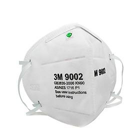 Thùng 500 chiếc Khẩu trang 3M 9002 lọc bụi siêu nhỏ 2.5PM phiên bản nâng cấp đeo qua đầu tiện lợi, dây quai đeo bằng vải thun