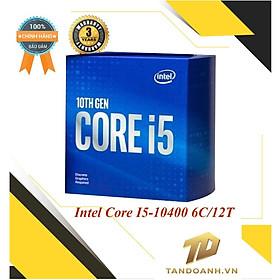 BỘ VI XỬ LÝ Intel Core I5-10400 - HÀNG CHÍNH HÃNG