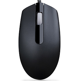 Dharmo (DEARMO) M180 wired mouse office mouse notebook desktop mouse USB photoelectric male and female mouse black 1000DPI