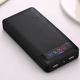 Pin Sạc Dự Phòng 20000mAh 2 Cổng USB