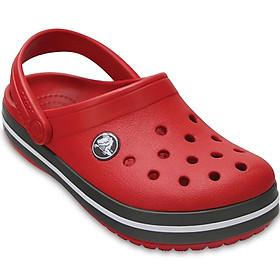 Giày thời trang Clog Trẻ em Crocs 204537-6IB - Đỏ
