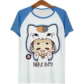 Áo Thun Nam Cậu Bé Mèo - ATCP158