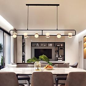 Đèn thả trần phòng khách, bàn ăn phong cách Bắc Âu tinh tế NYMIN 6 Bóng