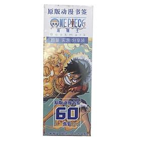 Hộp Bookmark One PIece Đảo Hải Tặc 60 ảnh tặng hình  Blue Vcone