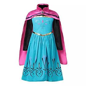 Đầm Công Chúa Elsa Đăng Quang Cho Bé Gái - HMEDQ