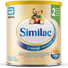 Sữa Bột Cho Bé Similac Eye-Q 2 HMO 400g Gold Label