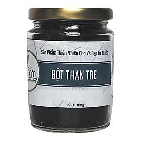 Bột Than Tre Đắp Mặt Nạ Bao Nam Organic Cosmetics (100g) + Tặng Bộ Đắp Mặt Nạ Inox Cao Cấp